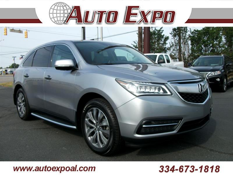 2016 Acura MDX FWD 4dr Tech/Entertainment Pkg