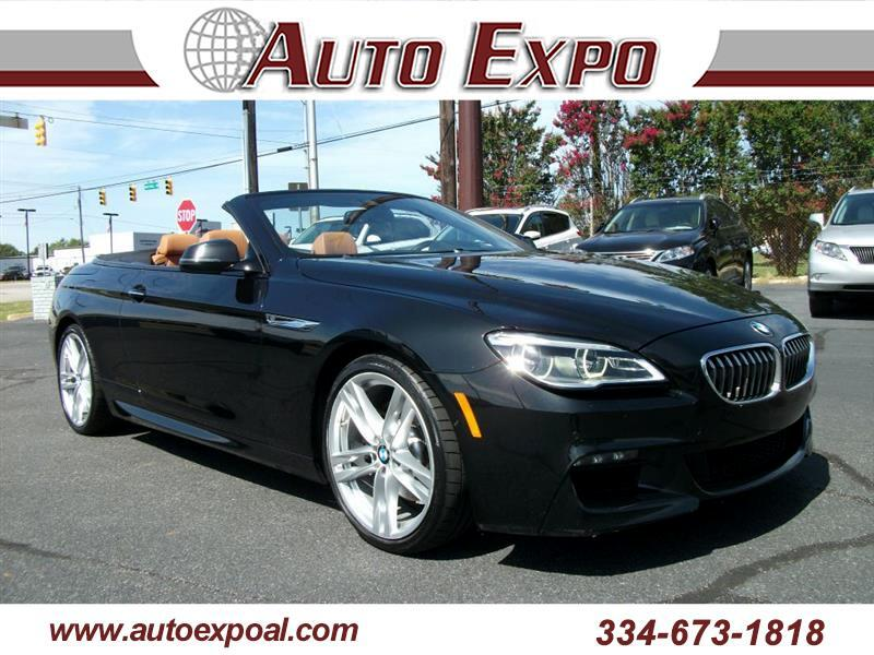 2017 BMW 6-Series 640i Convertible