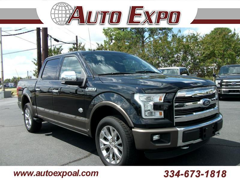 2016 Ford F-150 King Ranch 4WD SuperCrew 5.5' Box