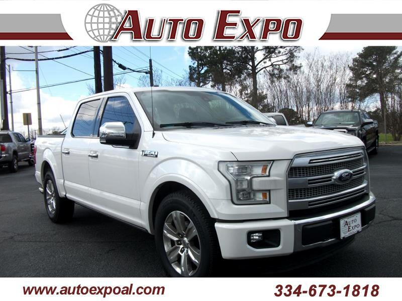 Ford F-150 Platinum SuperCrew 5.5-ft. Bed 2WD 2015