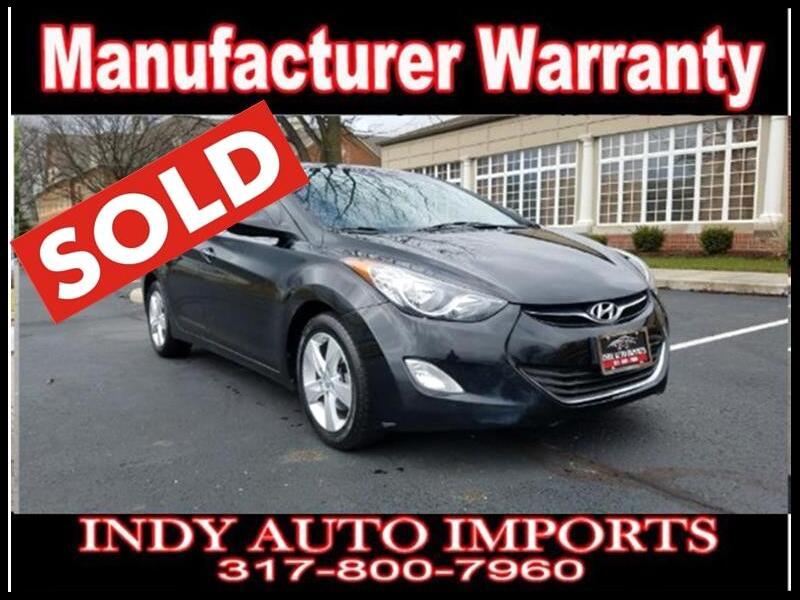 2013 Hyundai Elantra GLS A/T ***SOLD***