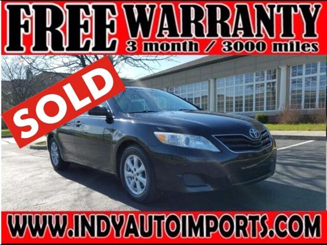 2011 Toyota Camry Base 6-Spd AT ***SOLD***