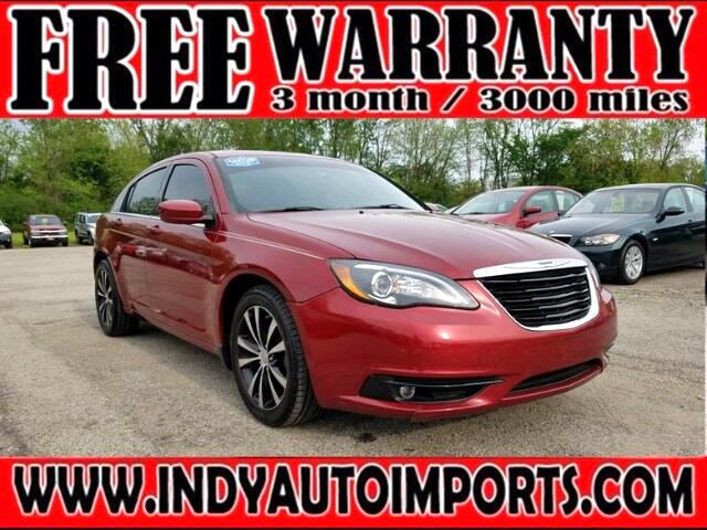 2012 Chrysler 200 S ***APPOINTMENT ONLY***