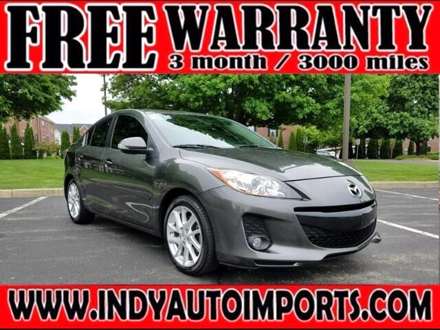 2012 Mazda MAZDA3 S Grand Touring 4-Door ***APPOINTMENT ONLY***