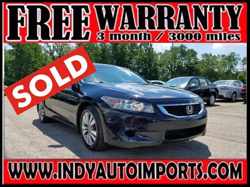2008 Honda Accord LX-S Coupe ***SOLD***