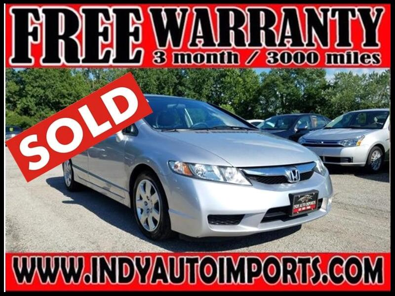 2010 Honda Civic LX Sedan 5-Speed AT ***SOLD***