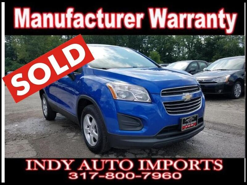 2015 Chevrolet Trax LS AWD ***SOLD***
