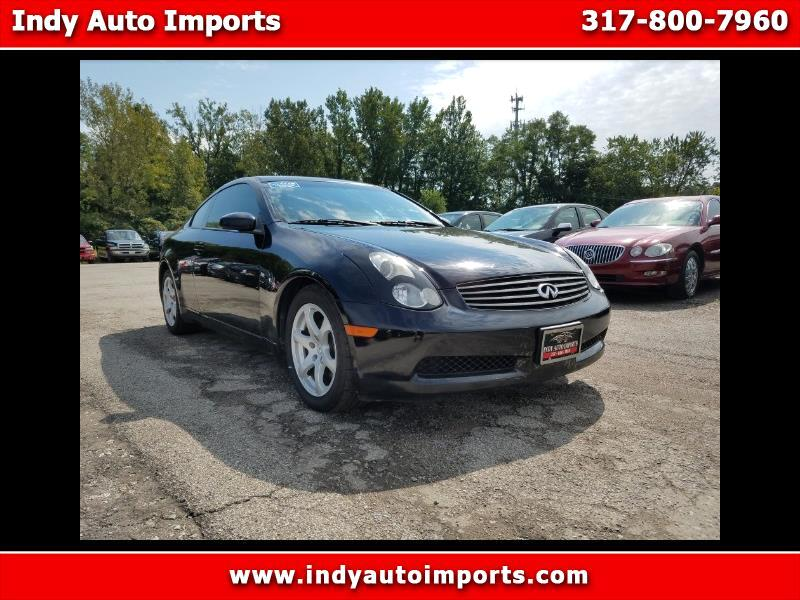 2007 Infiniti G35 Coupe 2dr Cpe Auto w/Leather
