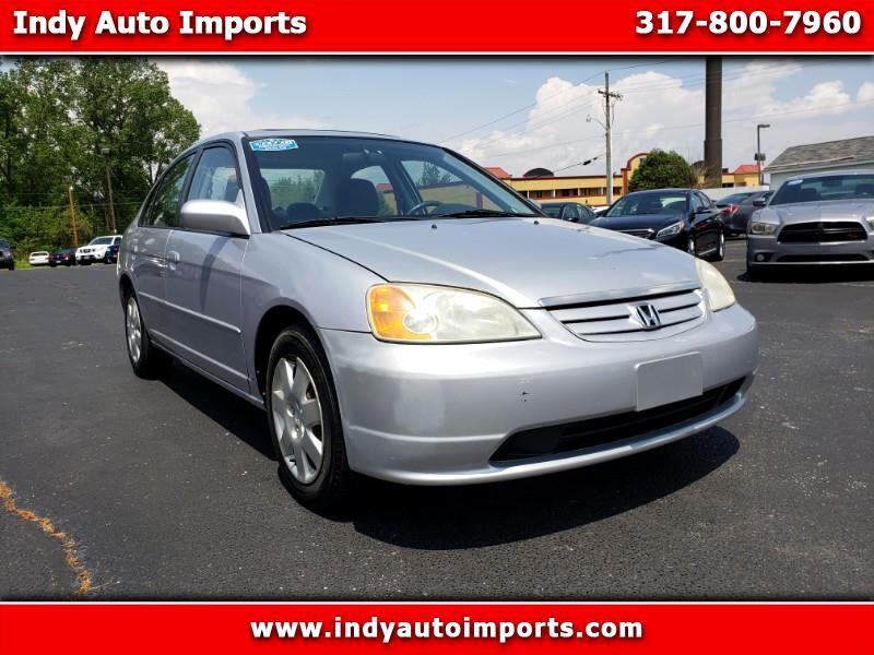 2001 Honda Civic EX Sedan ***REBUILT TITLE***