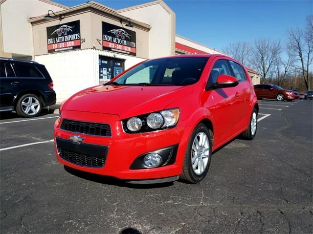 Chevrolet Sonic LT Auto 5-Door 2014