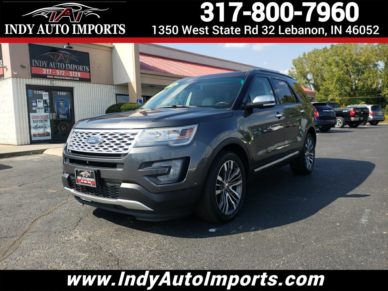 Ford Explorer Platinum AWD 2016