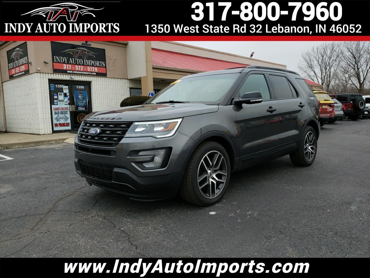 Ford Explorer Sport 4D SUV 4WD 2017