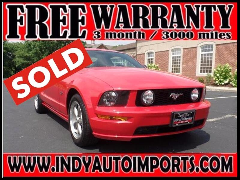 2006 Ford Mustang 2dr Cpe GT Premium ***SOLD***