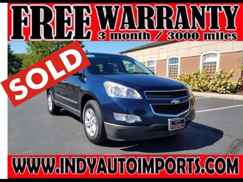 2012 Chevrolet Traverse LS AWD W/PDC ***SOLD***