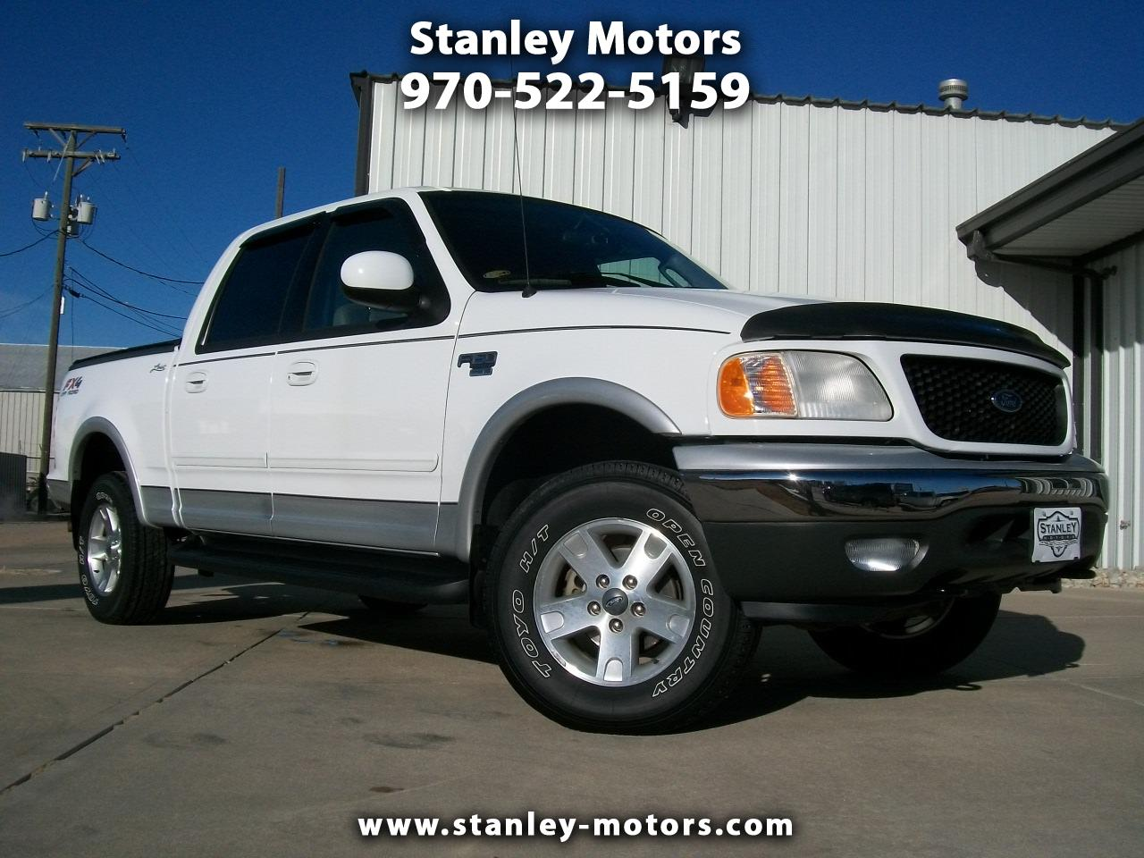 2003 Ford F-150 Lariat 4WD SuperCrew 5.5' Box