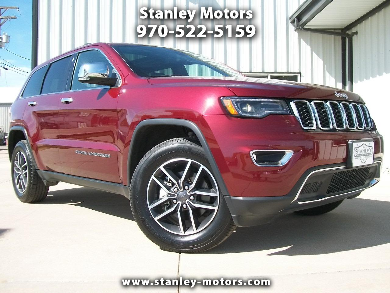 2019 Jeep Grand Cherokee 4dr Limited 4WD