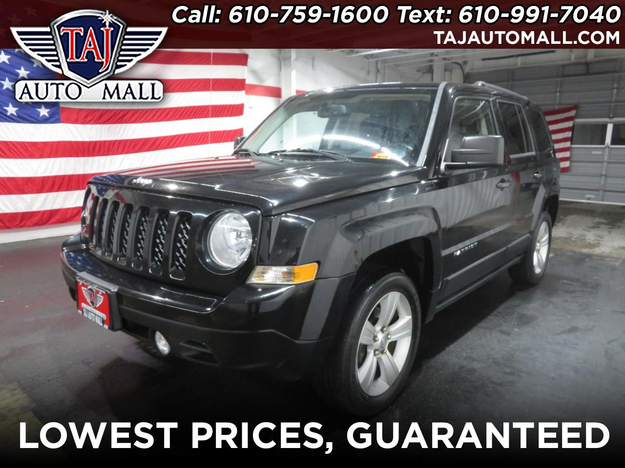 2013 Jeep Patriot 4WD 4dr Latitude