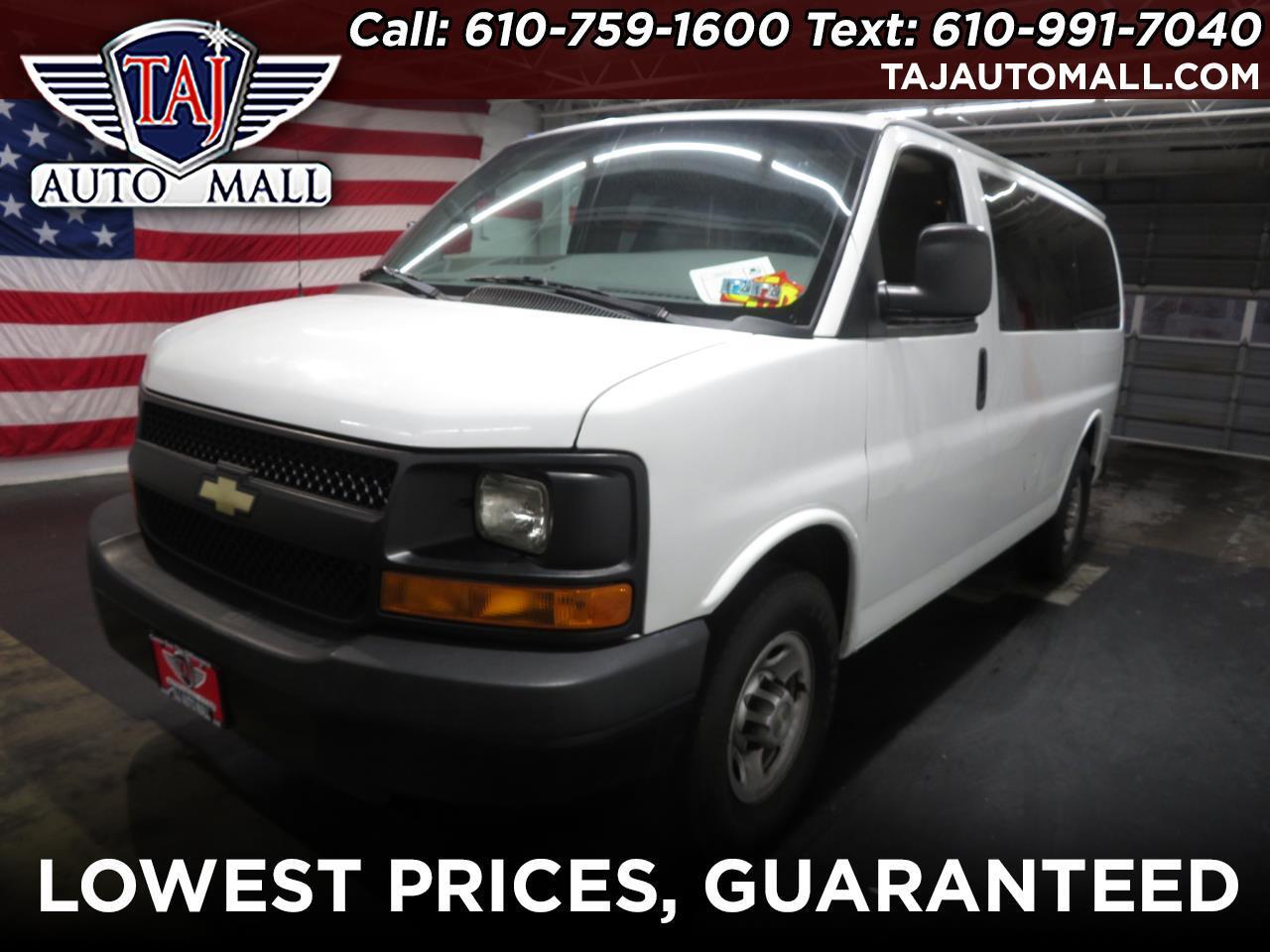 "2014 Chevrolet Express Passenger RWD 2500 135"" LS"