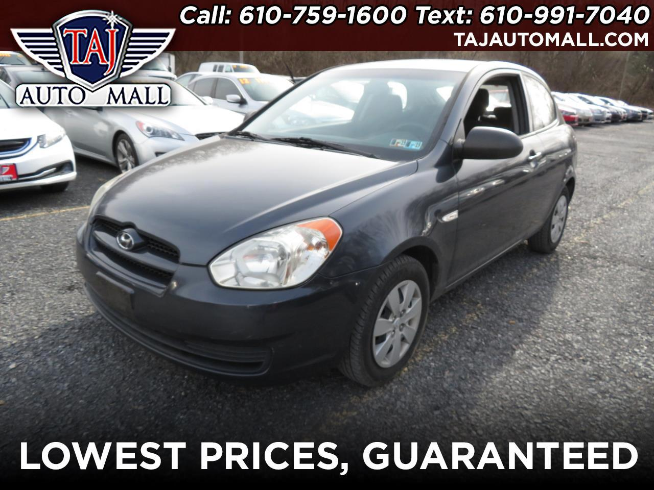 2008 Hyundai Accent 3dr HB Man GS