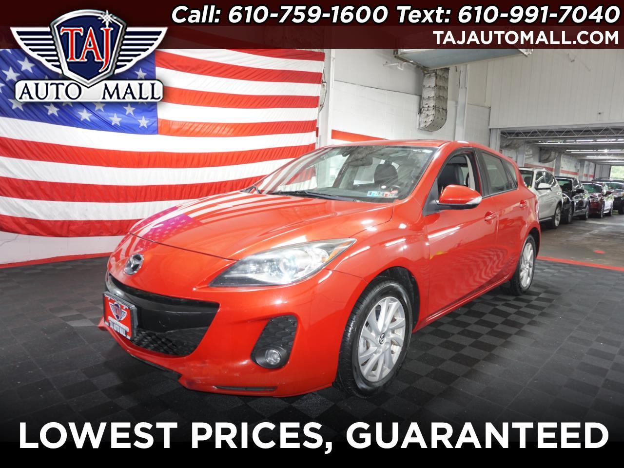 2013 Mazda MAZDA3 i Grand Touring MT 5-Door