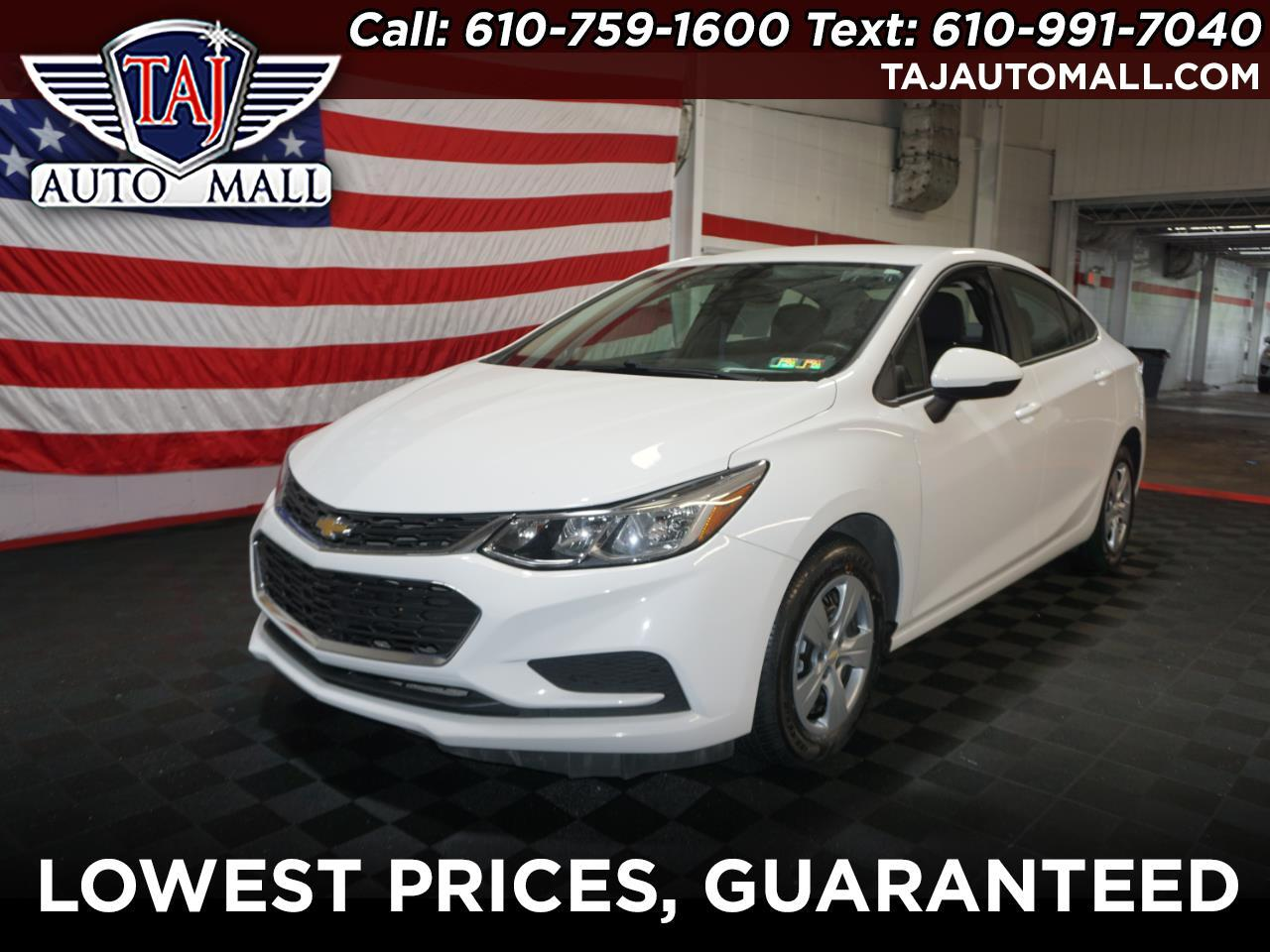 Used 2017 Chevrolet Cruze 4dr Sdn 1 4L LS w/1SB for Sale in