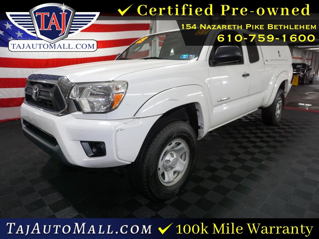 Toyota Tacoma 2WD Access Cab I4 AT PreRunner (Natl) 2013