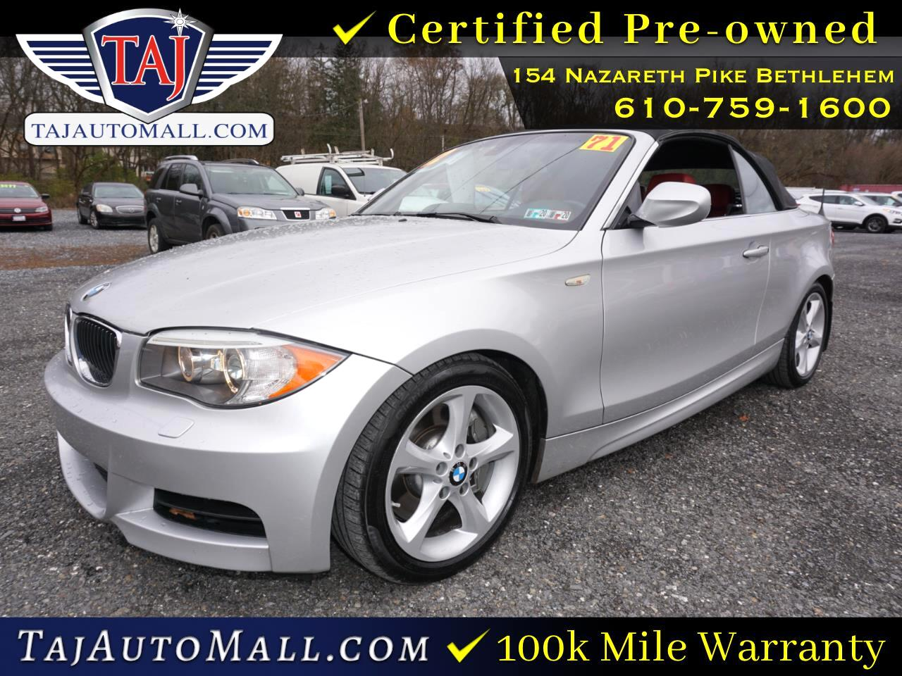 BMW 1 Series 2dr Conv 135i 2012