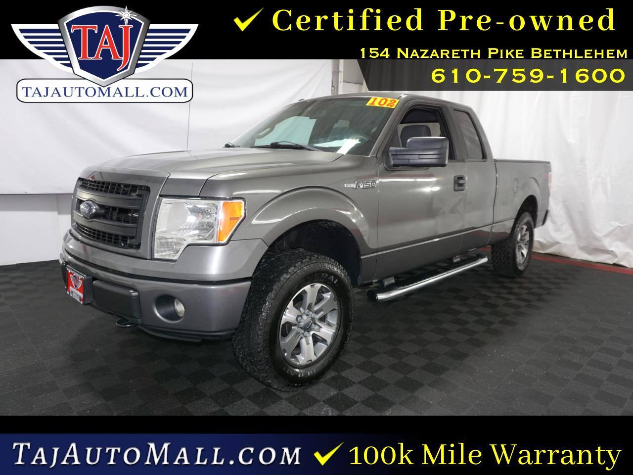Ford F-150 XL 4WD SuperCab 6.5' Box 2013