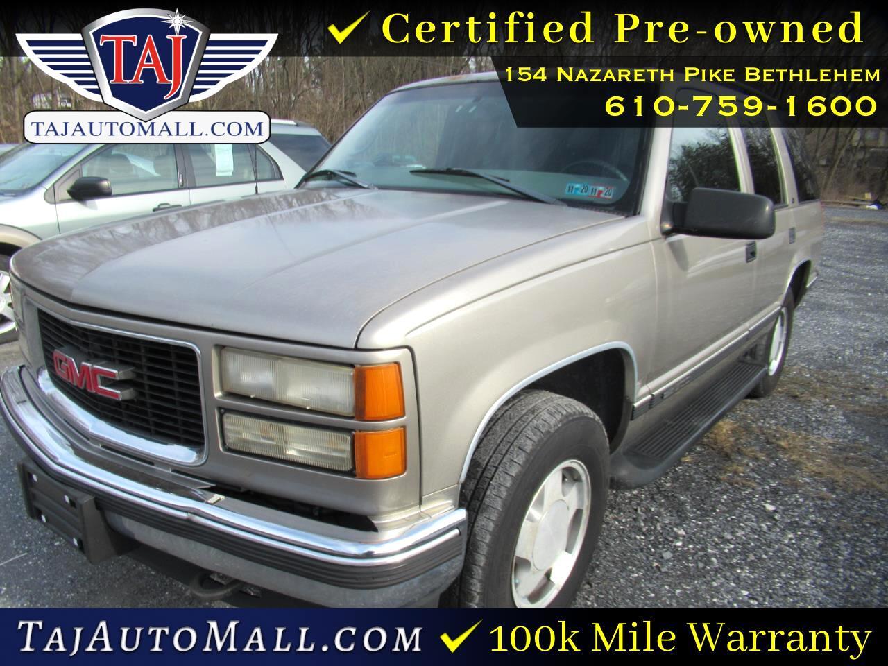 GMC Yukon 4dr 4WD 1999