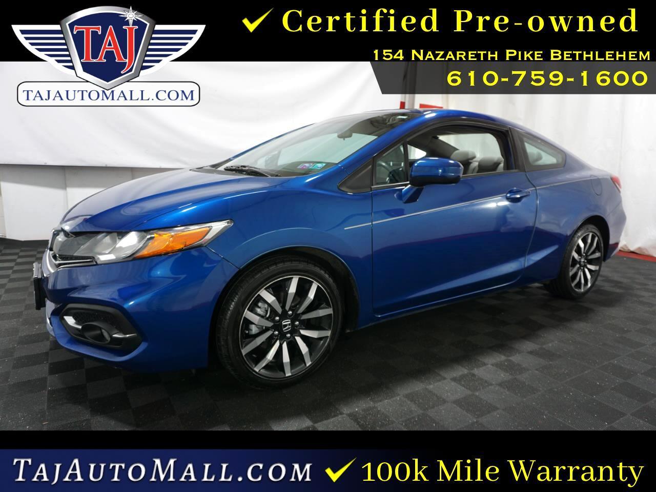 Honda Civic EX-L Coupe 2015