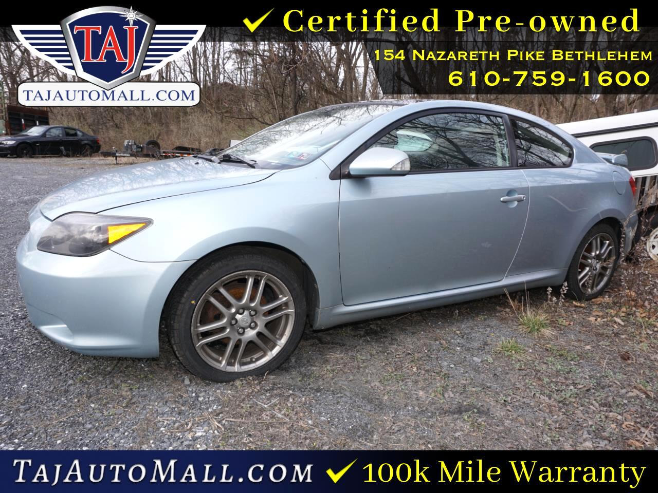 Scion tC 3dr HB Manual Spec (Natl) 2007