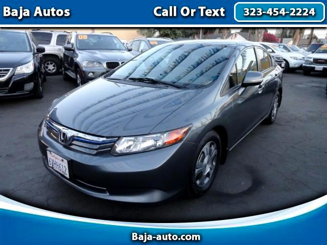 2012 Honda Civic Hybrid 4dr Sdn L4 CVT w/Leather