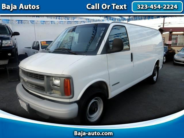 "2002 Chevrolet Express Cargo Van 3500 135"" WB"