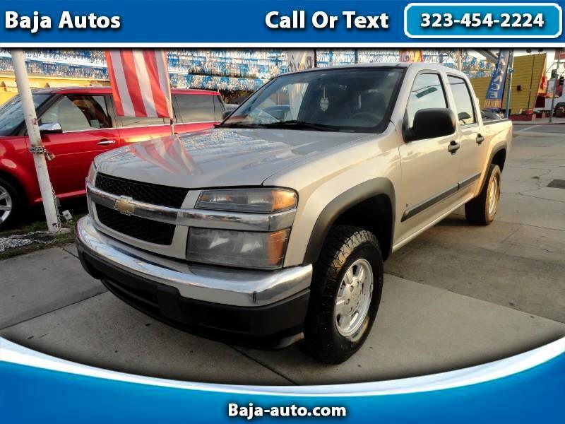 """2006 Chevrolet Colorado Crew Cab 126.0"""" WB 4WD LT w/1LT"""