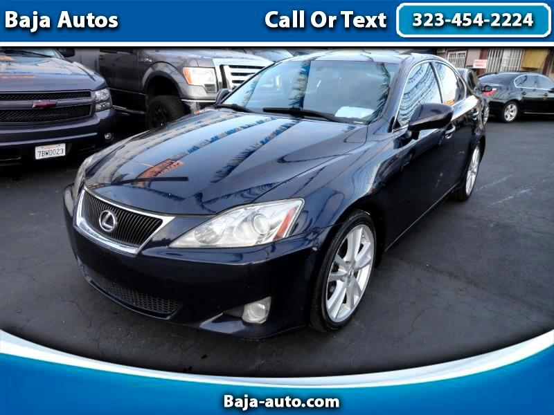 2007 Lexus IS IS 250 6-Speed Sequential
