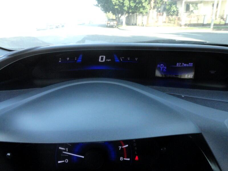 2012 Honda Civic Hybrid CVT AT-PZEV