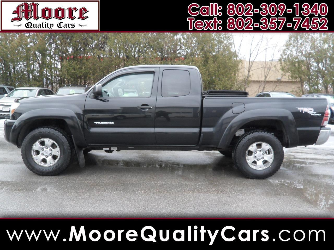 Toyota Tacoma 4WD Access V6 AT (Natl) 2009