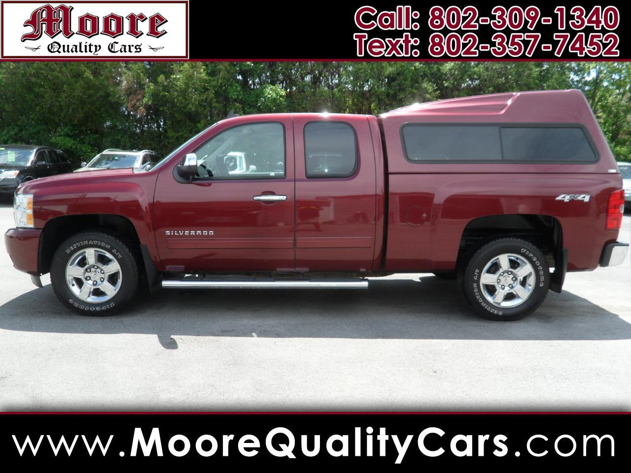 used 2013 chevrolet silverado 1500 4wd ext cab 143 5 ltz for sale in saint albans vt 05478 moore quality cars used 2013 chevrolet silverado 1500 4wd
