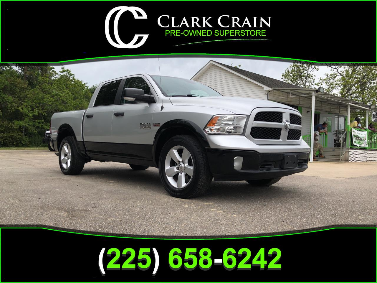 "2015 RAM 1500 2WD Crew Cab 140.5"" Outdoorsman *Ltd Avail*"