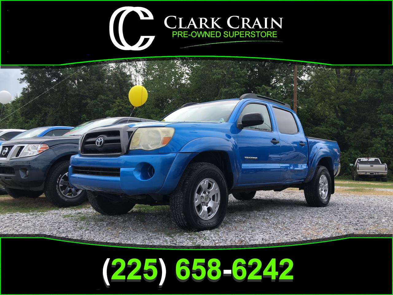 2005 Toyota Tacoma 2WD TRD Sport Double Cab 5' Bed V6 AT (Natl)