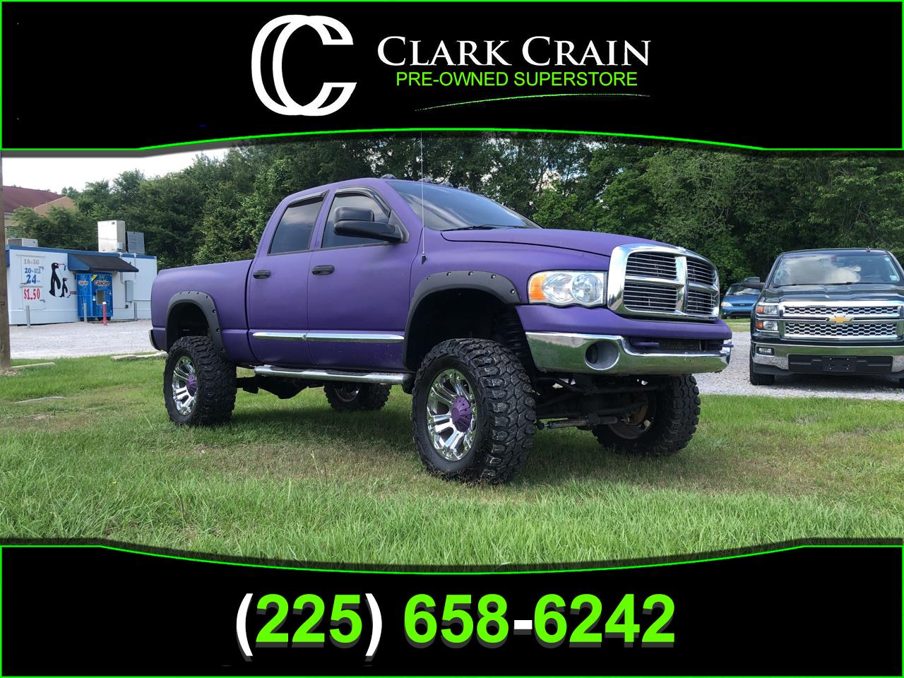 2004 Dodge Ram Pickup 1500 Quad Cab Short Bed 4WD