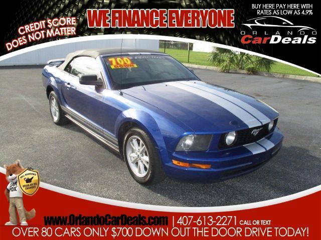 2005 Ford Mustang V6 Premium Convertible