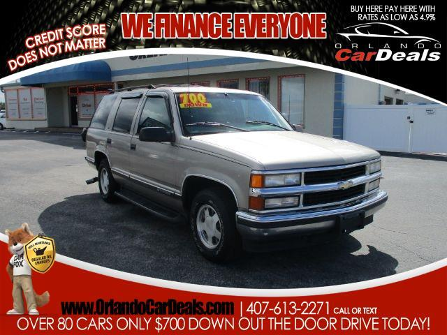 1999 Chevrolet Tahoe 4dr