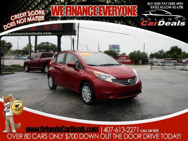 2015 Nissan Versa Note 5dr HB Manual 1.6 S