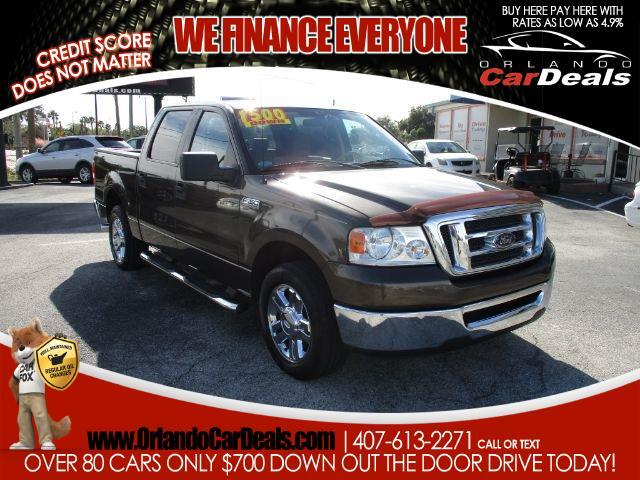 "2008 Ford F-150 2WD SuperCrew 139"" XL"