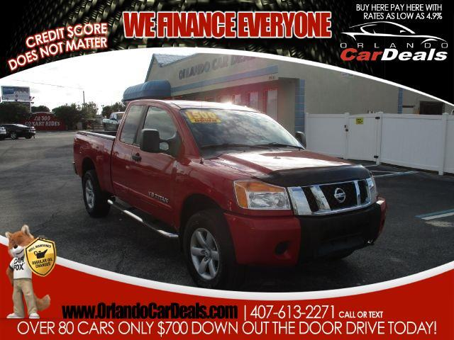 buy here pay here 2011 nissan titan 4wd king cab swb s for sale in orlando fl 32751 orlando car. Black Bedroom Furniture Sets. Home Design Ideas
