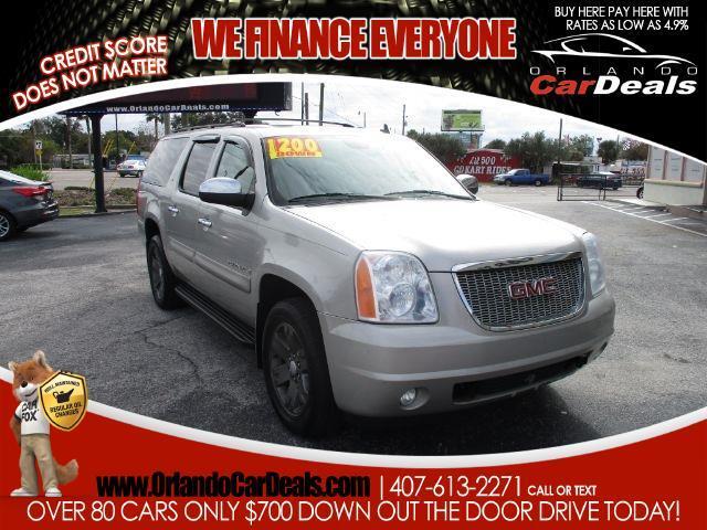 2009 GMC Yukon XL 4WD 4dr 1500 SLT w/4SB