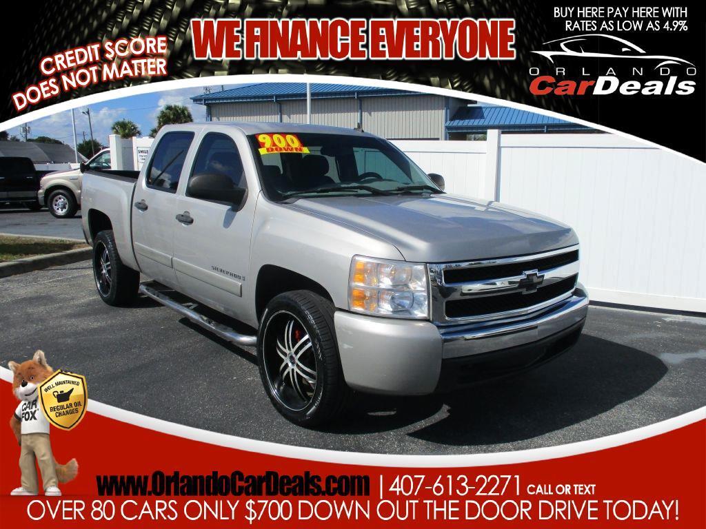 """Chevrolet Silverado 1500 2WD Crew Cab 143.5"""" LS 2008"""
