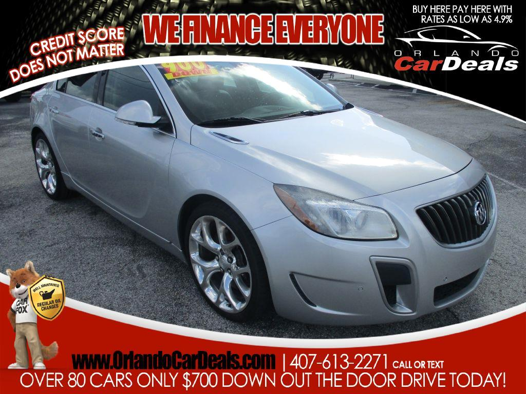Buick Regal 4dr Sdn GS 2012