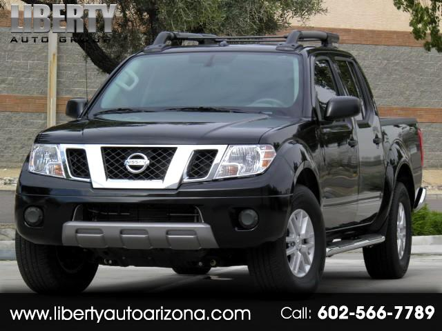 2017 Nissan Frontier SV 4DR CREW CAB 5 FT